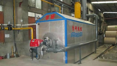 燃气蒸汽锅炉的优点有什么?学研热能浅析