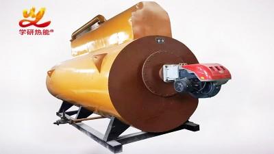 为什么锅炉的板式热交换器的板片会错位?学研燃气热水热能机