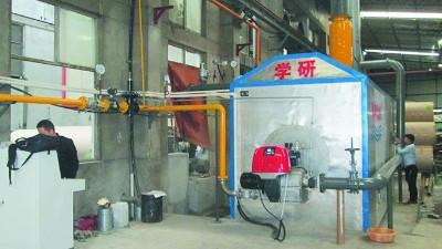 锅炉节能率低浪费高?学研热能机节能25%以上