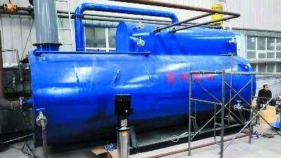 学研燃气锅炉浅析循环流化床锅炉,分离器内发生二次燃烧现象